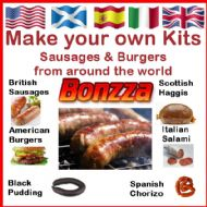 British & Continental Sausage and Burger Making Kits